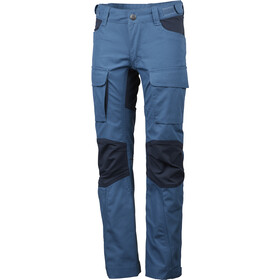 Lundhags Authentic II Pantalon Enfant, azure/deep blue